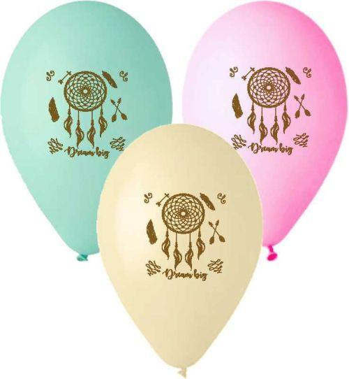 Μπαλόνι τυπωμένο καφέ Ονειροπαγίδα