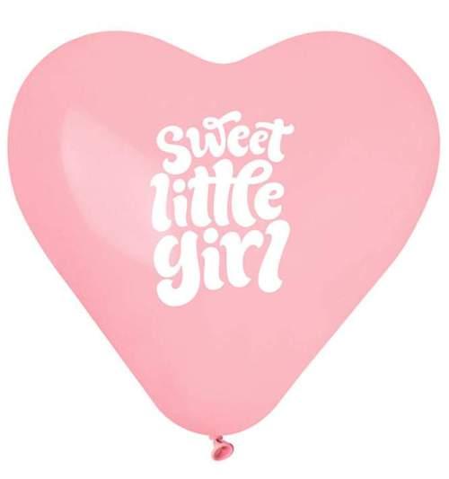 Μπαλόνι τυπωμένο Καρδιά Sweet Little Girl