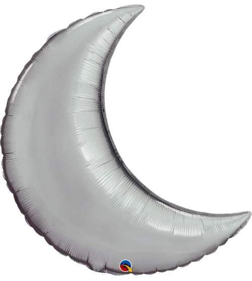 """Μπαλόνι φεγγάρι Ασημί 35"""""""
