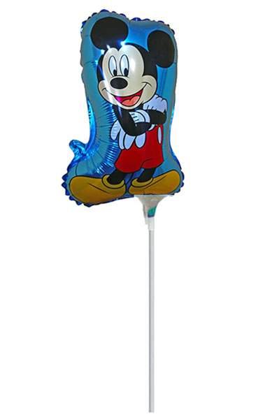 Μικρό μπαλονάκι με καλαμάκι Mickey Mouse
