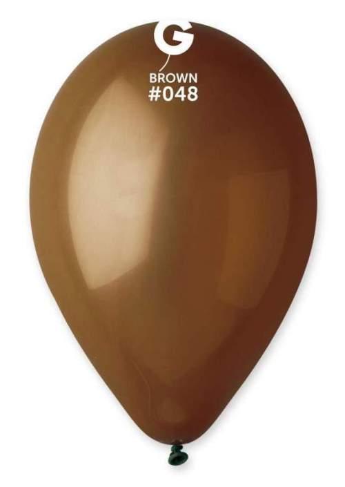 13'' Καφέ λάτεξ μπαλόνι