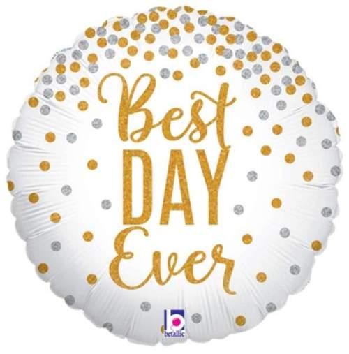 Μπαλόνι Best Day Ever γκλίτερ