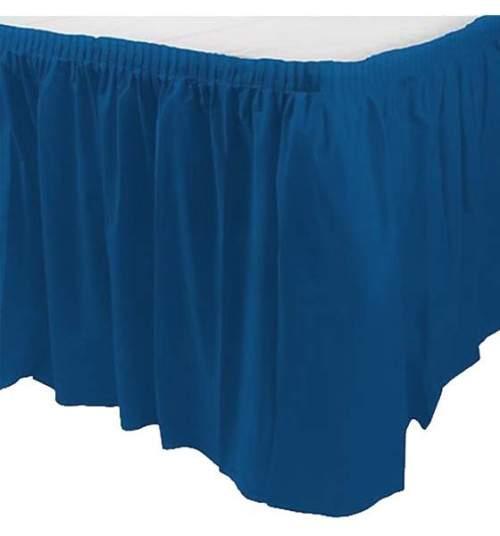 Φούστα τραπεζιού Πλαστική Royal Μπλε