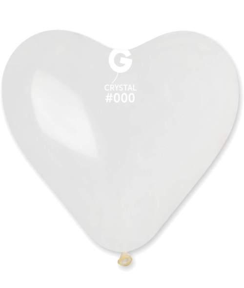 Μπαλόνι τεράστια διάφανη καρδιά