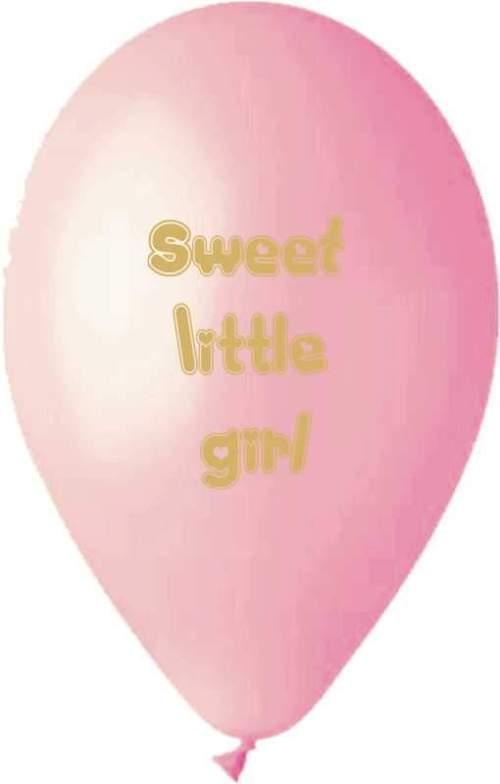 Μπαλόνι τυπωμένο Sweet little girl
