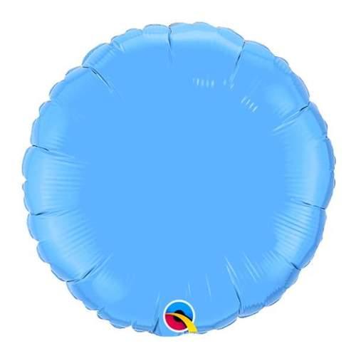 """Μπαλόνι sky blue στρογγυλό 18"""""""