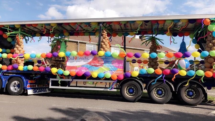 Balloonatic at Sheerness Carnival 2017