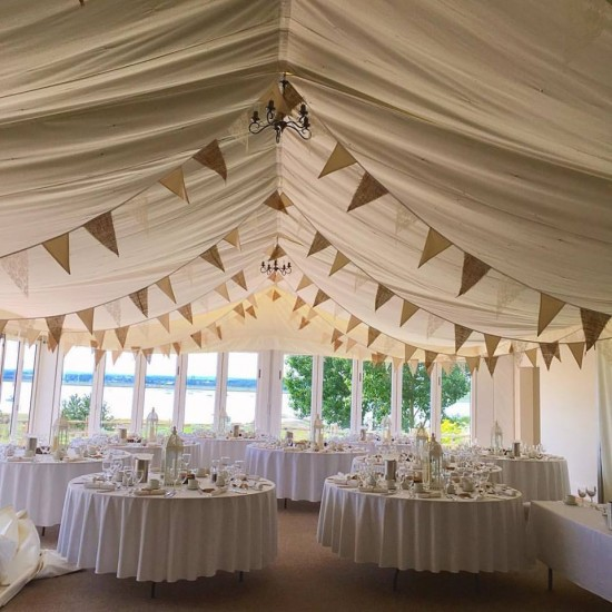 Hessian-Lace-Bunting