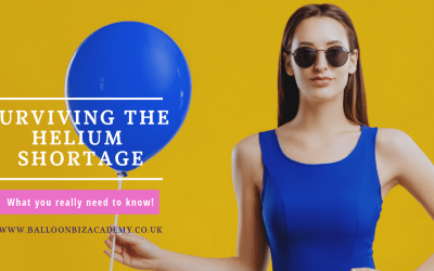 Surviving the Helium Shortage – What you need to know to still grow your balloon business!