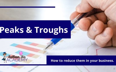 How to reduce the peaks and troughs in your balloon business