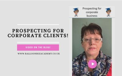 Prospecting for corporate customers