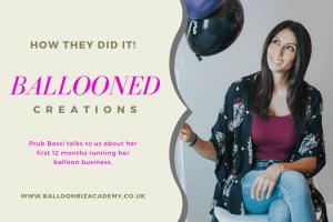 Starting a balloon business