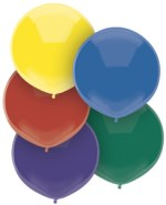BSA 17 inch outdoor balloons (Car yard balloons)