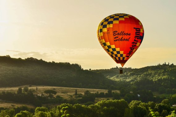 VOUCHER - Hot air balloon flight over Chianti plus drone video  3̶0̶0̶€  280€