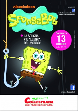 SPONGEBOB @Centro Commerciale COLLESTRADA