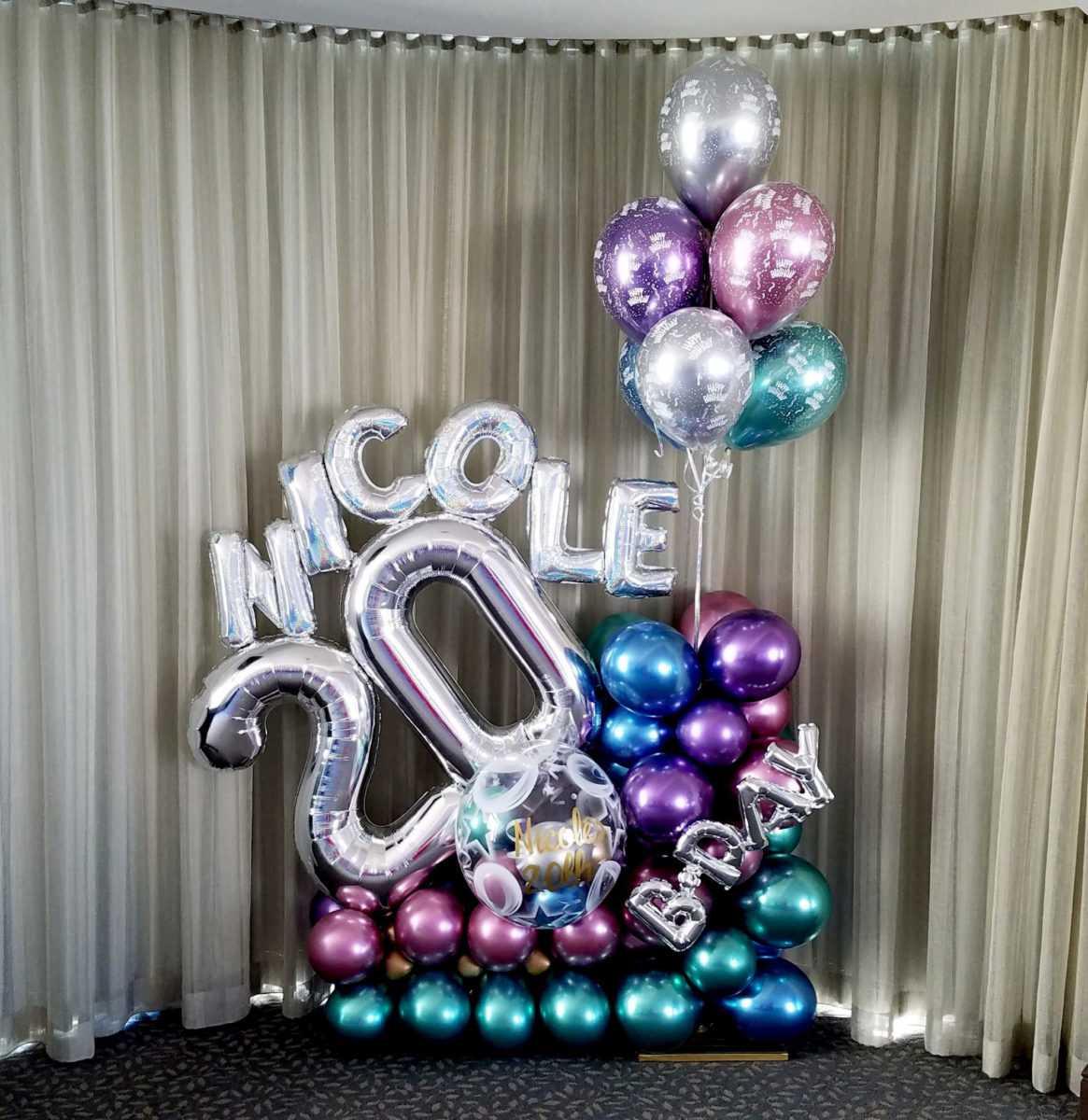 birthday balloons balloons by design