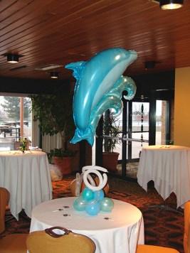 dolphin centerpiece