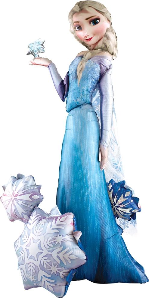 57 Inch Frozen Character Elsa Airwalker Balloon