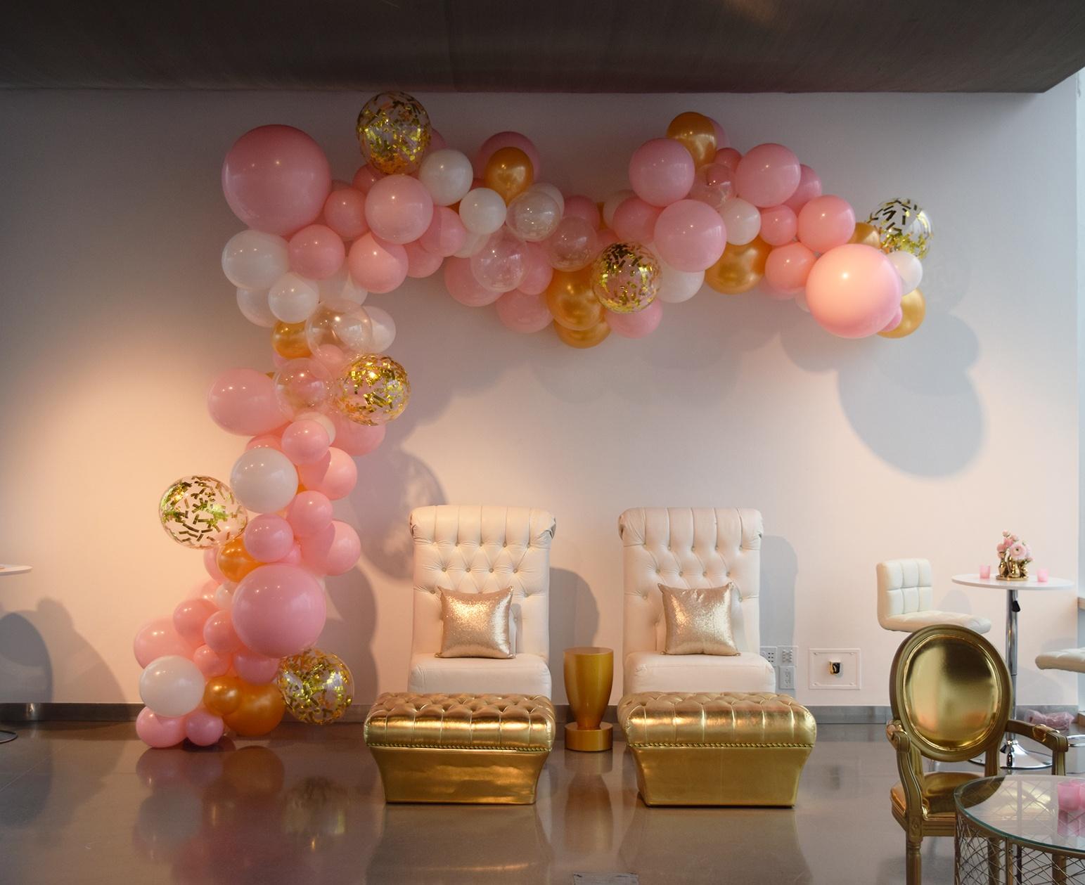 Balloon Archways Organic Confetti Garland