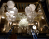 Balloon decor at The Drake Hotel Chicago NYE 2017 - Balloons by Tommy