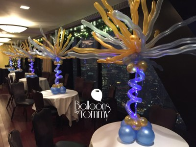 Balloons by Tommy - Light up balloon centerpieces