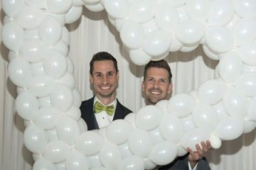 Tommy & Scott Wedding - Balloons by Tommy