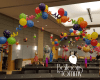 Ellie's Candy Bar themed Bat Mitzvah - Balloons by Tommy