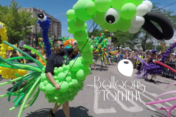 Balloons by Tommy - Chicago Pride Parade 2018