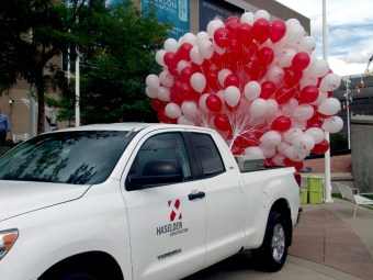 haselden construction balloons denver