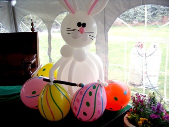 easter bunny balloons denver