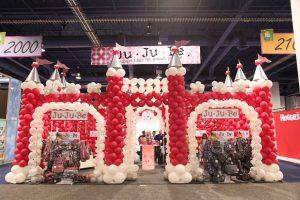 Ju-Ju-Be Castle at ABC Tradeshow
