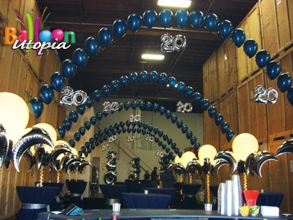 San Diego Corporate Event Decor And Balloons By Balloon Utopia