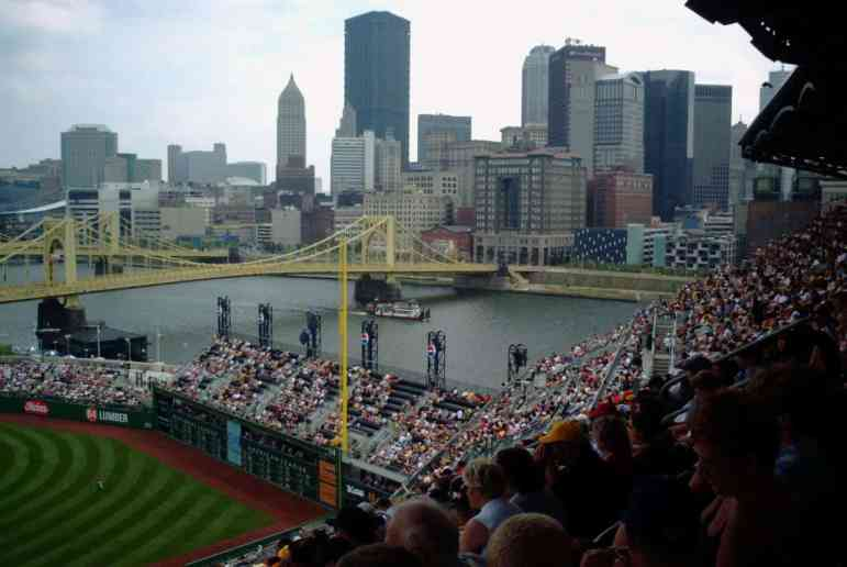 Clemente Bridge near PNC Park