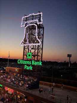 Liberty Bell at Citizens Bank Park