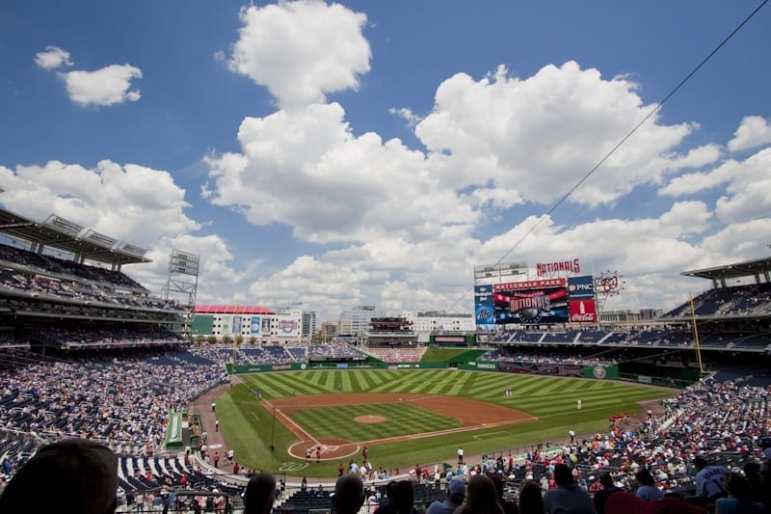 Afternoon at Nationals Park