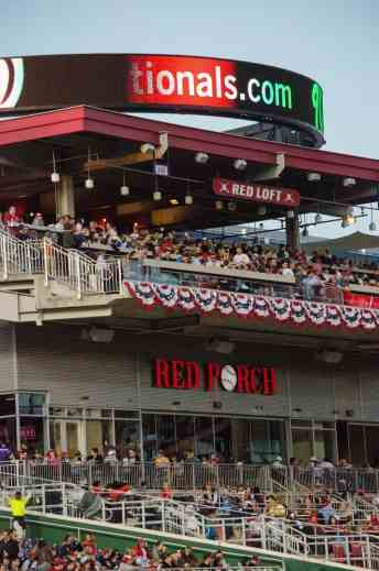 Red Porch of Nationals Park