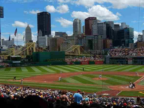 Sunny Summer Afternoon at PNC Park