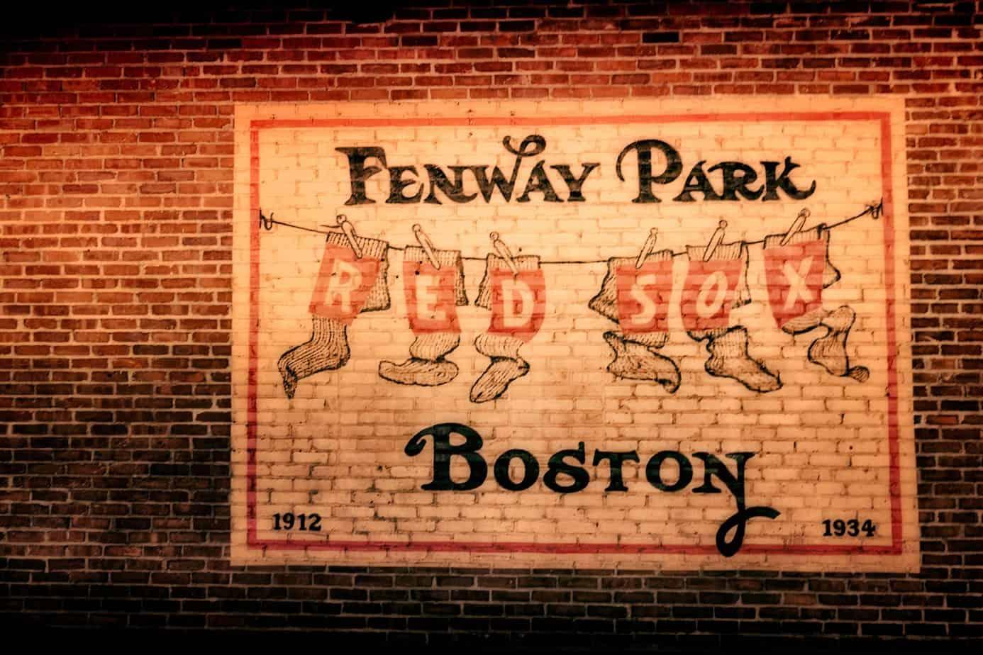 Brick Mural At Fenway Park Part 69