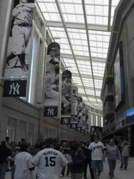Hall at Yankee Stadium