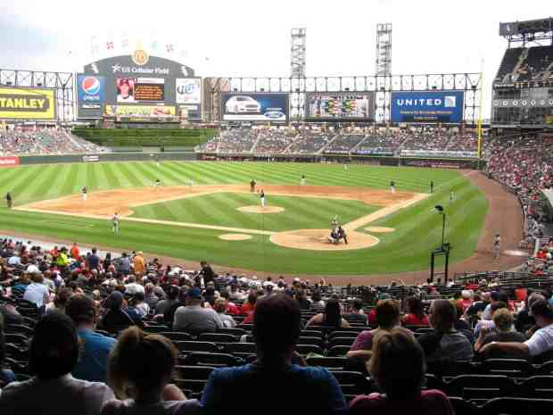 US Cellular Field Guide Where To Park Eat And Get Cheap Tickets - Us cellula r field inside map