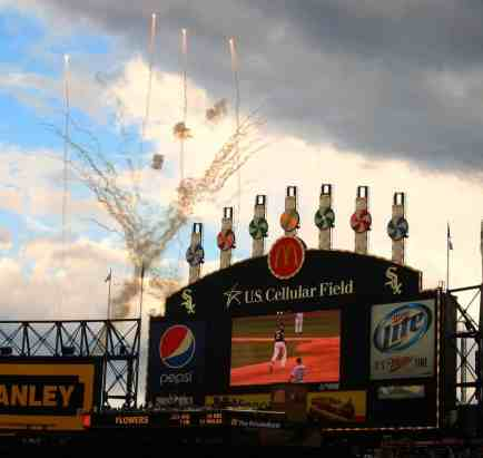 HR Explosion at Guaranteed Rate Field