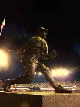 Willie Horton Statue at Comerica Park