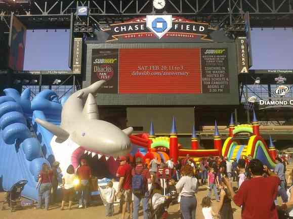 Kids Zone at Chase Field