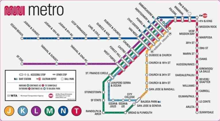 Metro Map AT&T