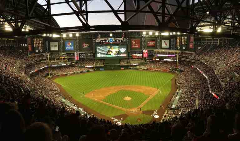 Seats at Chase Field