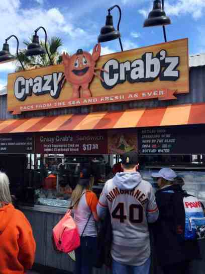 Crazy Crabz at AT&T