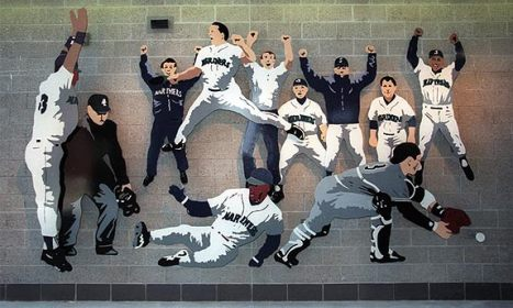 Mural at Safeco Field