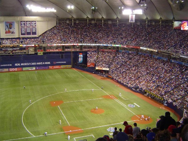 Metrodome History Photos And More Of The Minnesota