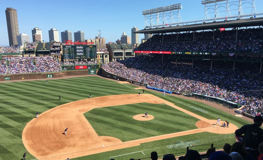 Image result for wrigley field