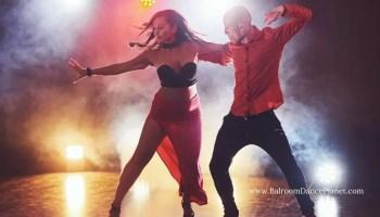 Black T-Strap Salsa Dance Shoes
